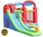 Inflatable Bounce House And Water Slide